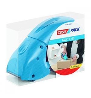 Desenrolador Punho Fita 50mm Tesa Pack N Go - Azul