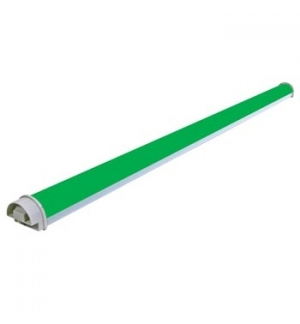 Tubo LED - cor verde - 144 Leds - 1030 x 50mm