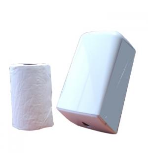 Start Kit Rolo Toalhas Maos Espiral (60mt) + Dispensador