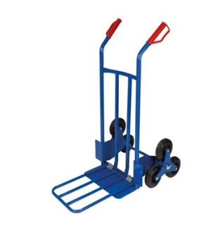 Carro mao para subir escadas - 6 rodas capacidade 200kg