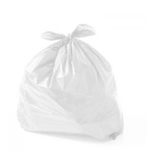 Sacos Lixo Plast 100Lts Branco 19my (70x105cm) (Pack 100)