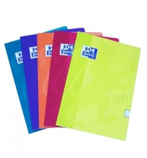 Caderno Agrafado Oxford Touch 2M A4 Quadriculado 48Fls 5Cors