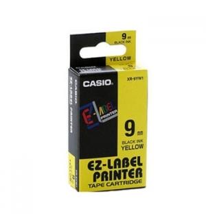 Fita para Gravacao para etiquetadora 9mm Amarelo