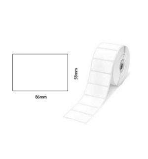 Papel Termico contnuo 58x86mts TD2020/TD2120/TD2130