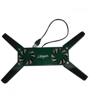 Suporte para portátil Flexivel 10 a 15 Pol USB Verde