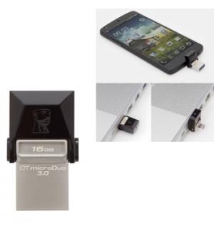 Pen Drive 16GB Kingston DataTraveler microDuo USB 30