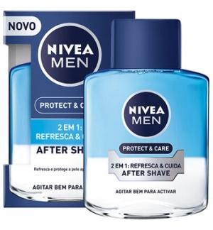 Aftershave Loção NIVEA 2 em 1 Hidrata e Refresca 100ml