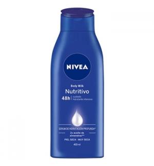 Creme Corporal NIVEA Body Milk Nutritivo 400ml