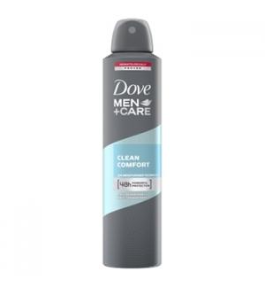 Desodorizante SprayDOVE Men Clean Comfort 250ml