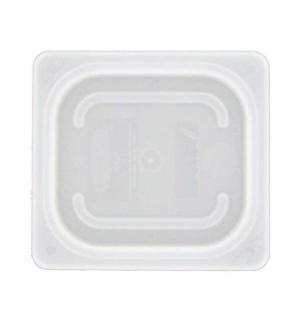 Tampa Recipiente Frios 1/6 176x162mm Flexivel Branco