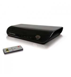 Comutador HDMI 4 portas com comando