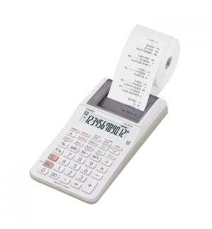 Calculadora de Secretaria Casio HR8RCE 12Dig c/ Fita - Preto