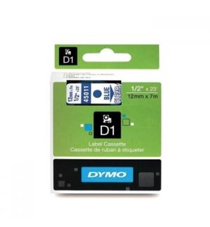 Fita Gravacao Dymo 12mmx7m Transparente/Azul (45011)