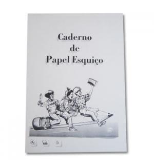 Caderno de Papel Esquiço A4 35grs 80fls