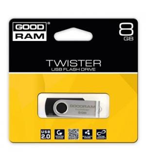 Flash Drive 8GB Goodram Twister USB 20 Preto