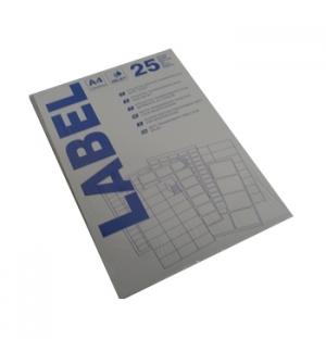 Etiqueta Adesiva Transp. Matte Inkjet 96x50,8mm 25fls 250un