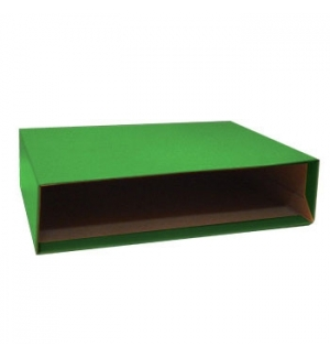 Caixa Cartao Micro p/Pasta Arquivo 310x290 L80 (Verde)