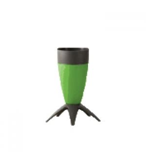 Porta Guarda Chuvas cone em PP Verde