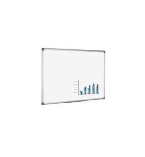 Quadro Branco 60x90cm Melamina Magnetico Moldura Aluminio