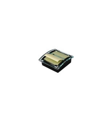 Dispensador Bloco Adesivo Zig-Zag 1 Bloco 50Fls Amarelo