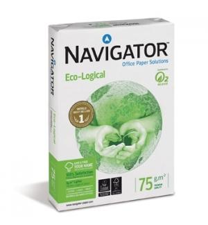 Papel Fotocopia A4 75gr Navigator (Ecological) 5x500Fls
