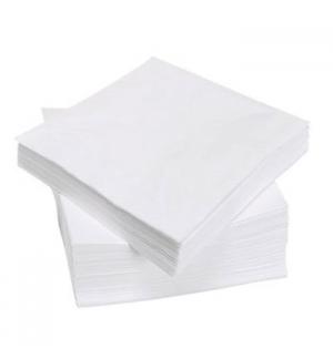 Guardanapos 33x33cm 2Fls Branco (Maco100)