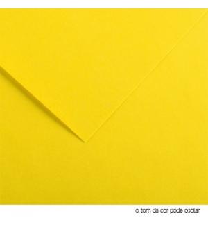 Cartolina 180gr 1 Folha A4 Amarelo Canario (4A)