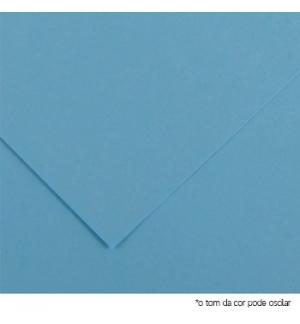 Cartolina 180gr 1 Folha A4 Azul Ceu (5O)