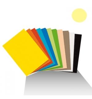 Cartolina 180gr 1 folha 50x65cm Baunilha Escuro/Avela (4D)