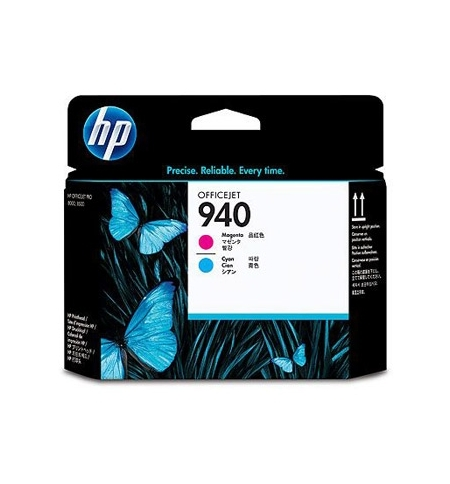 Cabeca de Impressao Officejet N940 Cian e Magenta