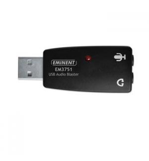 Placa de som USB Audio Blaster 51
