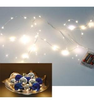 Grinalda c/ LEDs RGB (30 LEDs)