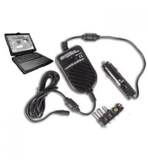 Carregador universal p/portateis para utilizacao Auto 70W