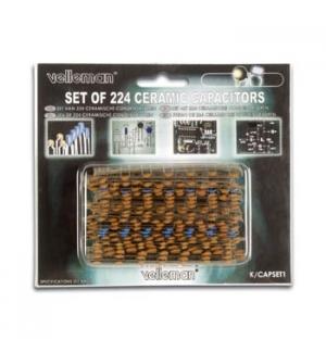 Set de condensadores ceramicos 240un