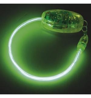 Bracelete electroluminescente EL Neon Verde