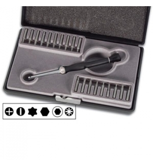 Conjunto de 19 chaves para electronica