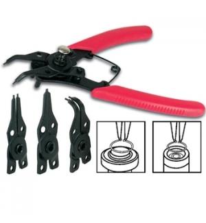 Alicate de insercao/remocao aneis metalicos (saca-freios)