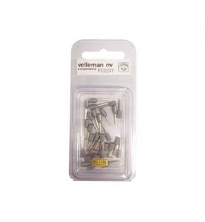 Conector ponteira p/ cravamento cinza 75mm 30un
