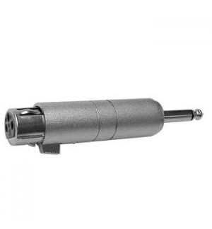 Adaptador XLR 3P macho/ Jack 6,35mm macho mono