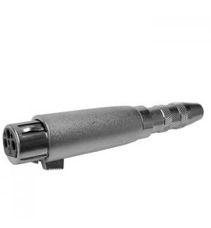 Adaptador XLR 3P fêmea/Jack 6,35mm stereo