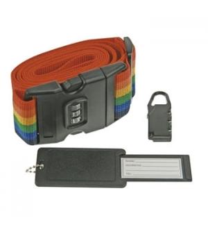 Correia p/ protecção 50mmx2mtsde bagagem c/ cadeado de combi