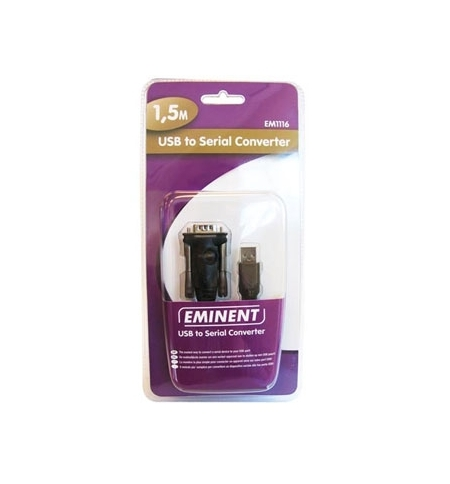 Cabo conversor USB para porta serie RS232 (versao basic)