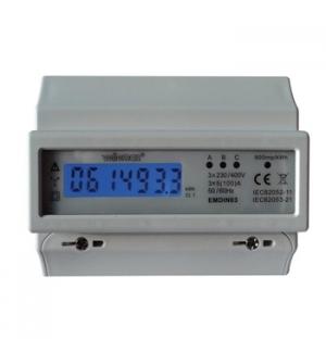Modulo de consumo de energia trifasico kW/h mont calha DIN