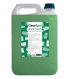 Detergente desinfet (areas processamento) Cleanspot 5Litros