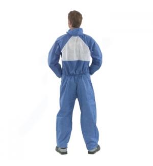Fato de proteccão 4530+ branco e azul tamanho L