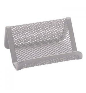 Porta cartoes Tipo Rede Prata