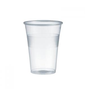 Copos Plastico Transparente (Agua/Cha) 200ml-(Pack50)