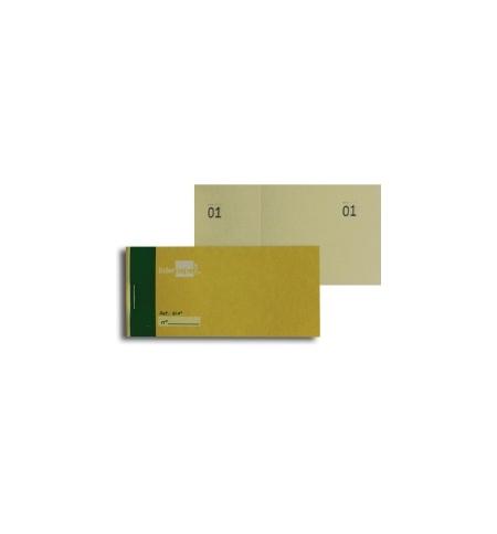 Blocos Impressos-Taloes Numerados-Pack 20un Amarelo