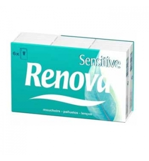 Lencos Papel Renova Sensitive 10un (Pack6)