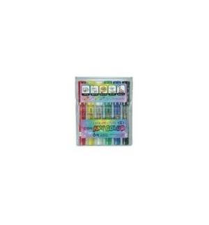 Marcador Grosso Any-Color 6 Cores Pvc Set